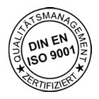 Logo DIN EN ISO 9001